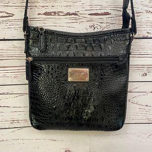Mark Fisher black croc Crossbody bag